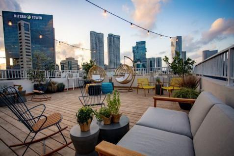 Rooftop | Gia Hostel  Tel Aviv