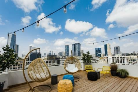 Gia Hostel Tel Aviv | Rooftop